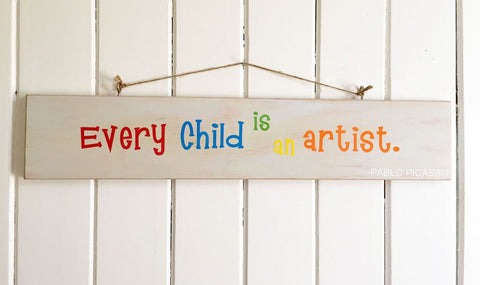 Every Child is an Artist Board
