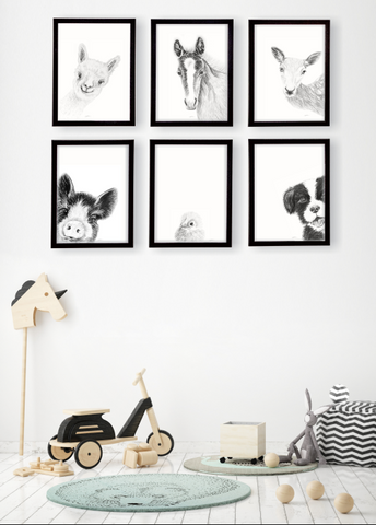 The Innocence Collection + Friends I A4 Art Prints