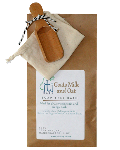 100% Natural Goat's Milk & Oat Soap Free Bath Mix