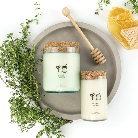Thyme & Honey Soy Candle