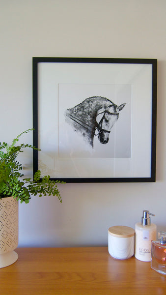 Watercolour horse prints