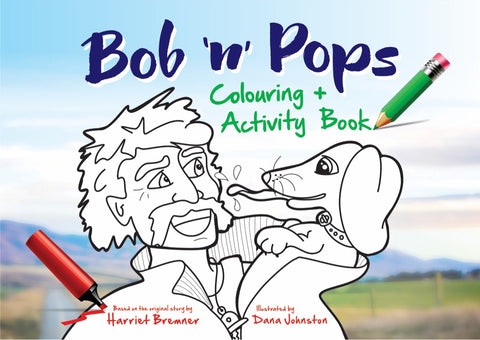 Bob n Pops Colouring + Activity Book