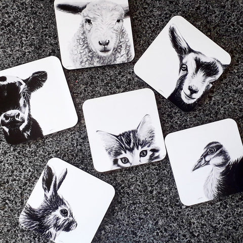The Innocence Collection  / Set of 6 Coasters