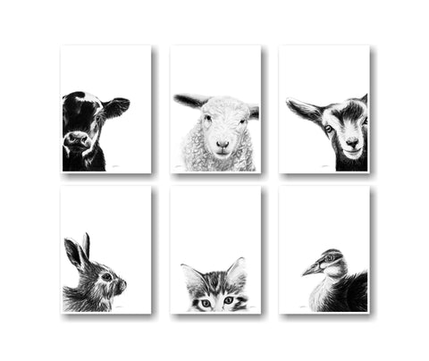 The Innocence Collection/A6 Greeting Card Set