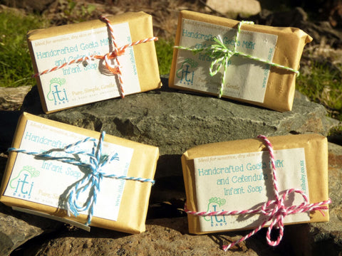 100% Natural Goats Milk & Calendula Soap