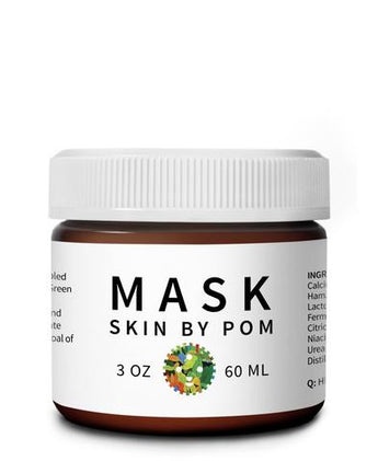 Skin by Pom - Green Clay & Green Tea Probiotic Mask for Blemished Skin