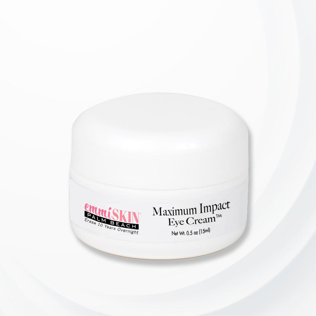 emmiSKIN Palm Beach MAXIMUM IMPACT EYE CREAM - Puffiness + Dark Circle Minimizer
