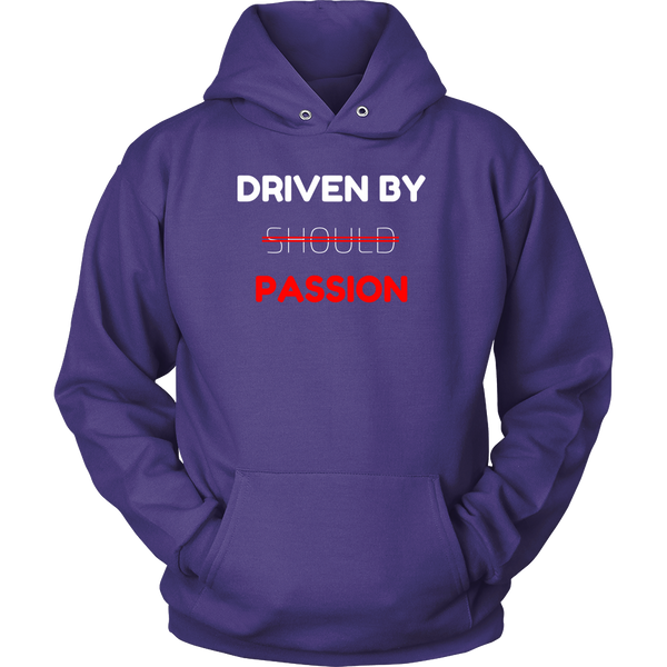 Driven By Passion Hoodie - Cornerstone Tees