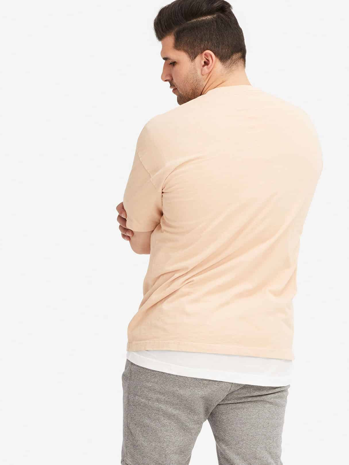 OAK NYC Basic Tee Pink Hero