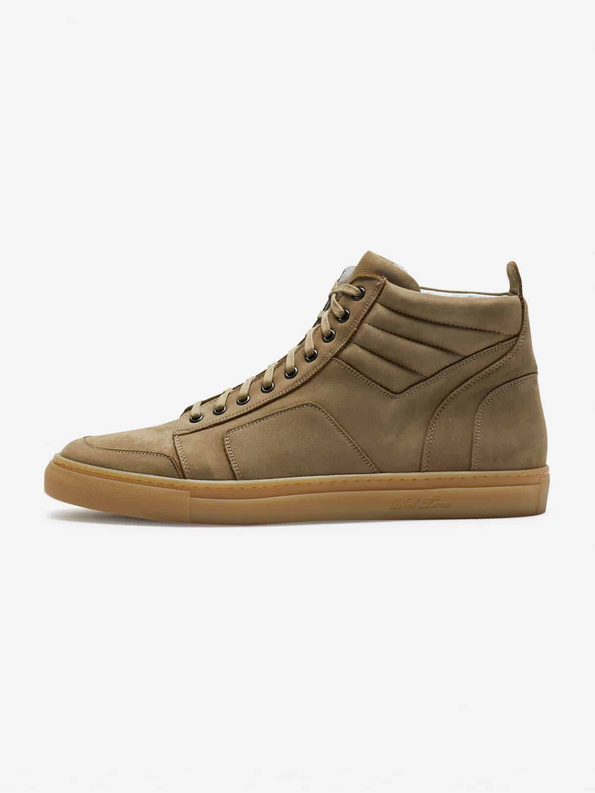 Del Toro Boxing Sneaker Brown Hero