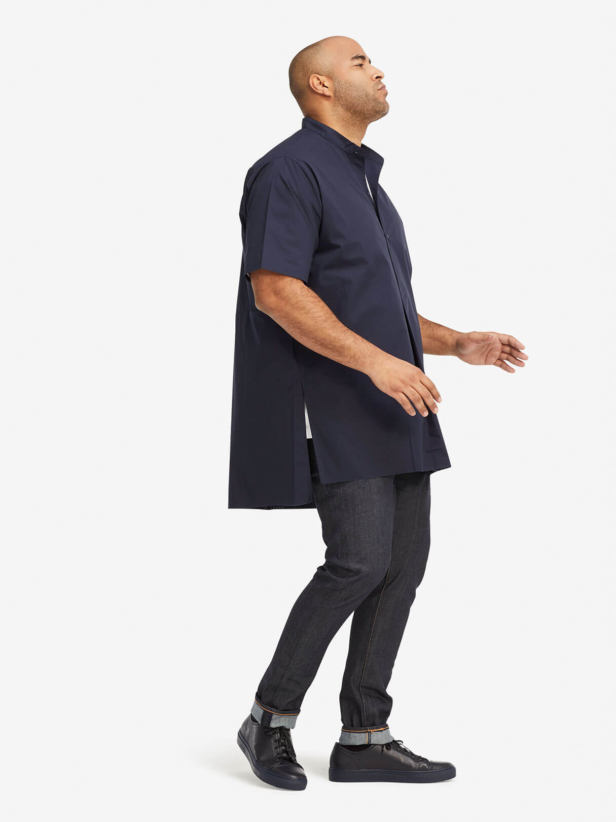 Wide Popover Shirt