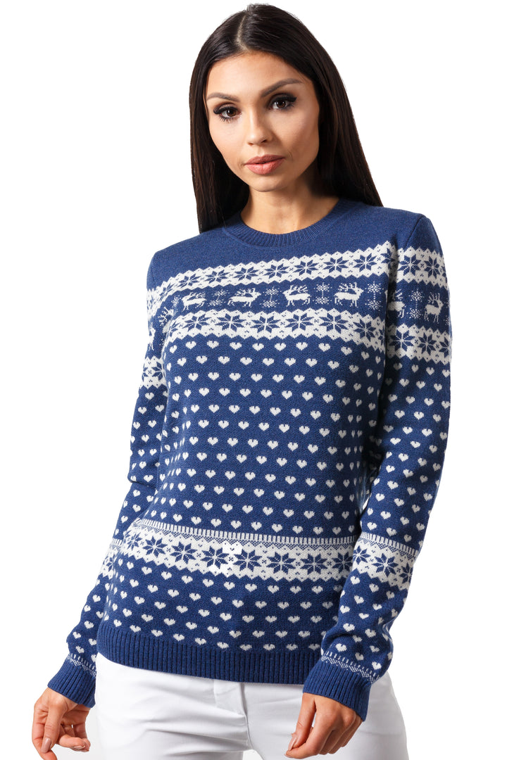 Winter Raindeer Sweater Style 2
