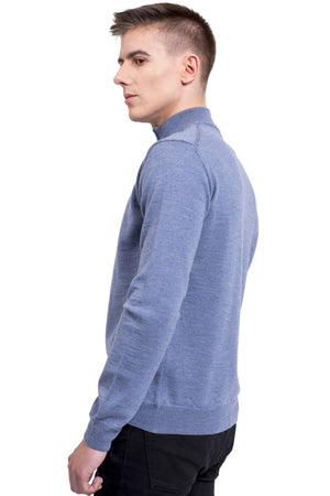 Men's Classic Quarter Zip Sweater