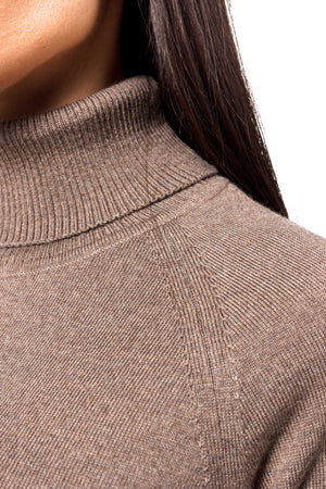 Merino Wool Tutleneck Top