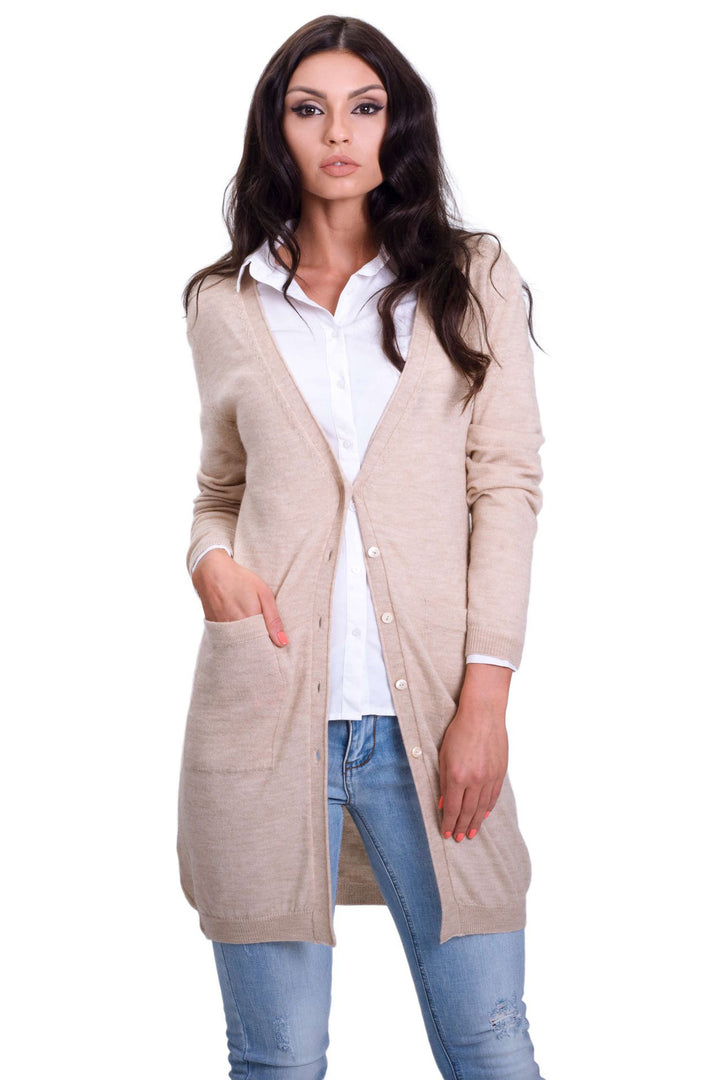 Classic Middle Lenght Cardigan