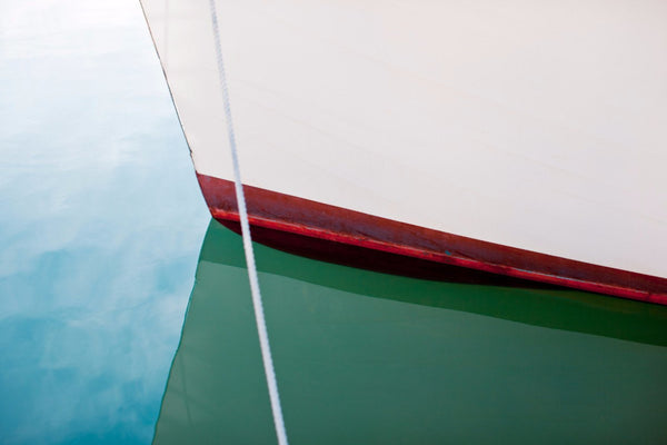 Boat Abstract - Duncan Innes Prints