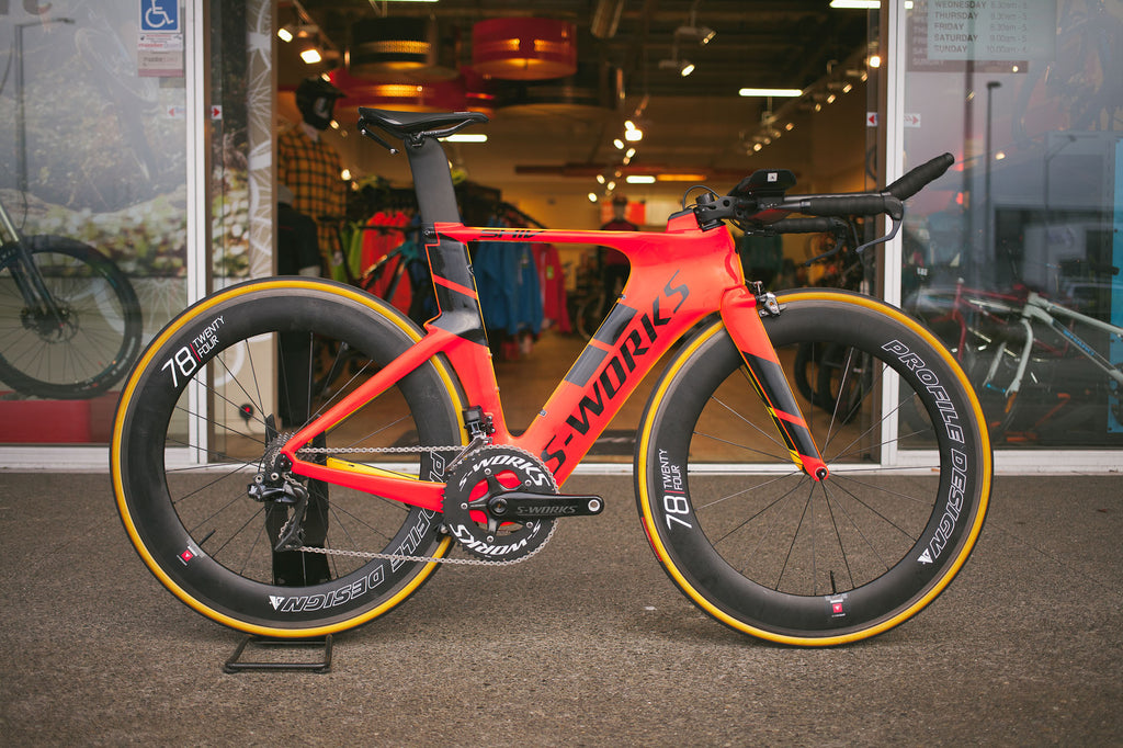 Dylan McNeice's New S-Works Shiv