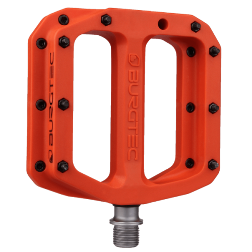 Burgtec Composite Pedals Iron Bro Orange