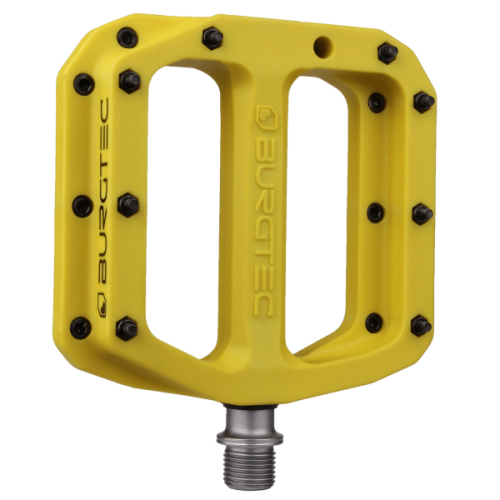Burgtec Composite Pedals Sunset Yellow