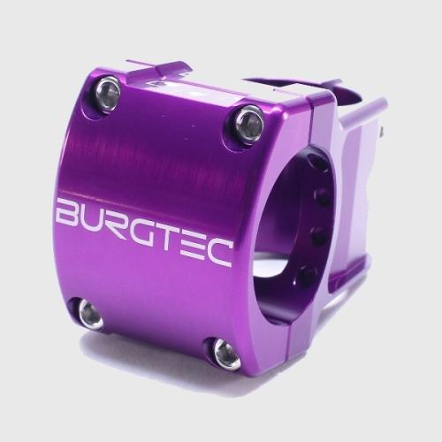 Burgtec Enduro MK2 Stem 35mm Bar Purple Rain