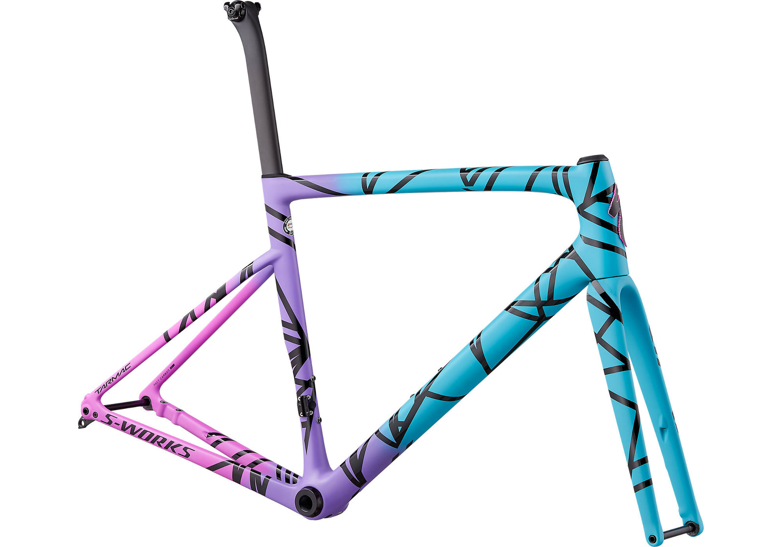 2019 S-Works Tarmac Disc Frameset Mixtape LTD