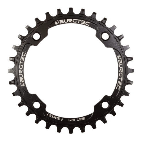 Burgtec 104MM BCD Inside Fit E-Bike Steel Thick Thin Chainring