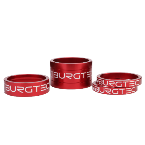 Burgtec Stem Spacers Race Red