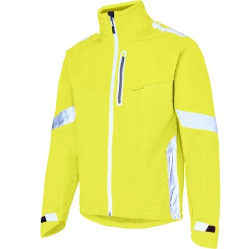 Madison Protec Mens Hi Viz Yellow Jacket Front