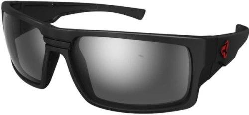 Ryders Thorn Anti-Fog Glasses Matte Black / Grey Lens Silver FM Anti-fog