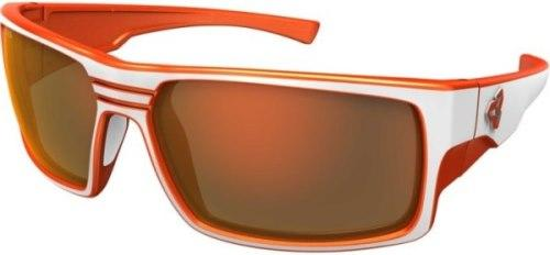 Ryders Thorn Anti-Fog Glasses White-Orange / Brown Lens Orange FM Anti-fog