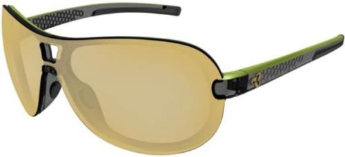 Ryders Aero Fyre Varia Black-Dark Green / Yellow-Brown Lens Anti-FOG Gold MLV
