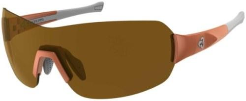 Ryders Pace Anti-Fog Glasses Orange-White / Brown Lens Anti-fog