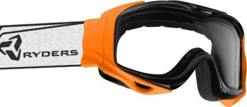Ryders Shore Goggle Orange / Clear Double Lens