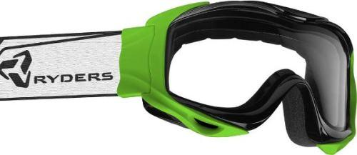 Ryders Shore Goggle Green / Clear Double Lens