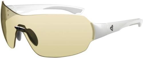 Ryders Via Photochromatic White Metallic / Yellow Lens 76%-27%