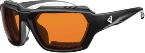 Ryders Face Photochromatic GX Black Matte / Orange Lens 37%-9% Anti-fog