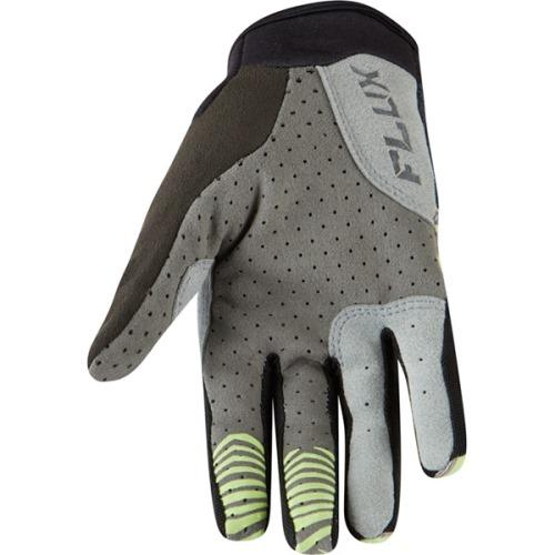 Madison Flux Womens Phantom / Sharp Green Glove Rear