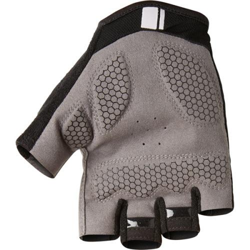 Madison Peloton Mens Black Mitts Rear