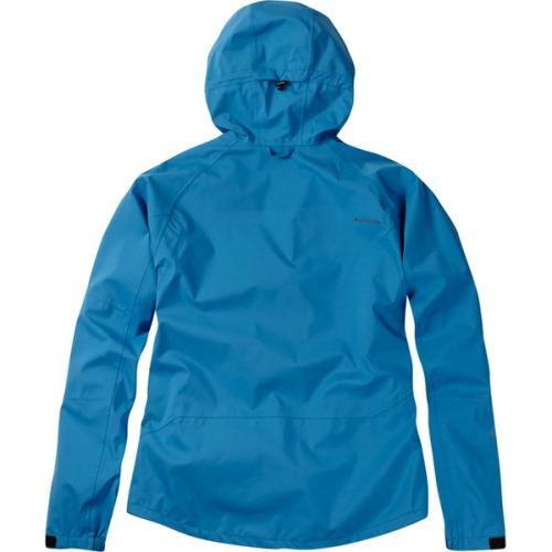 Madison Zenith Mens Waterproof Blue Jacket Rear