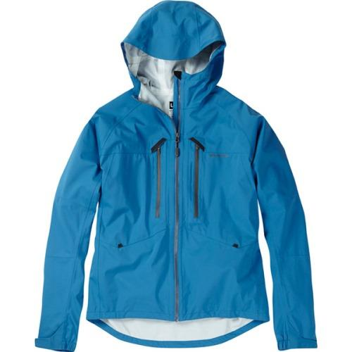 Madison Zenith Mens Waterproof Blue Jacket Front