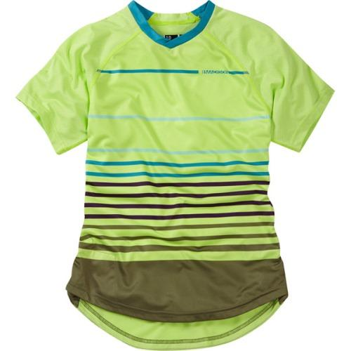 Madison Zena Womens Short Sleeve Sharp Green Jersey Front