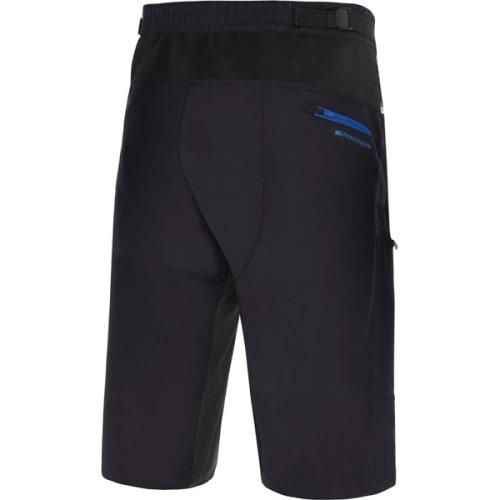 Madison Trail Mens Shorts Black Rear