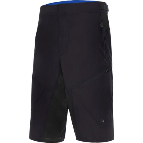 Madison Trail Mens Shorts Black Front