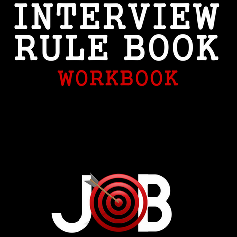 Available Now! Interview Rule Book WORKBOOK (Paperback) - Firefighter Interview Rule Book