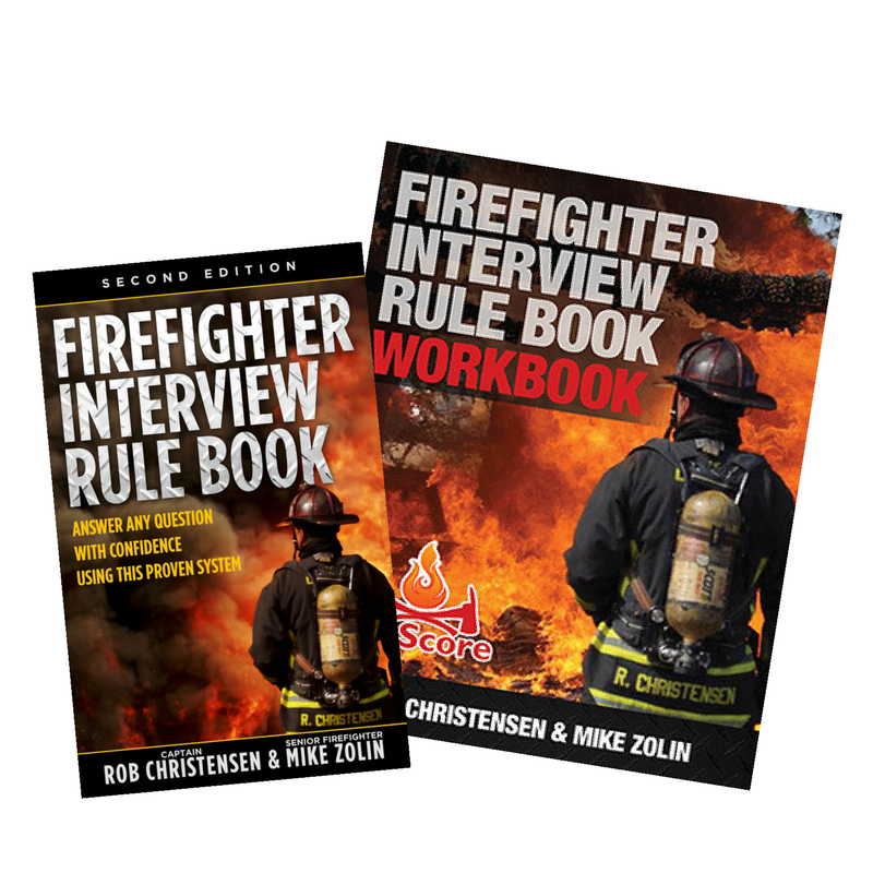 Firefighter Interview Rule Book-Second Edition & Workbook Package (paperback) - Firefighter Interview Rule Book