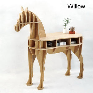 Black walnut horse desk