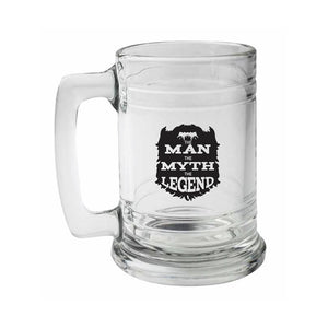 The Man, The Myth, The Legend Beer Stein - Northern Glasses Pint Glass