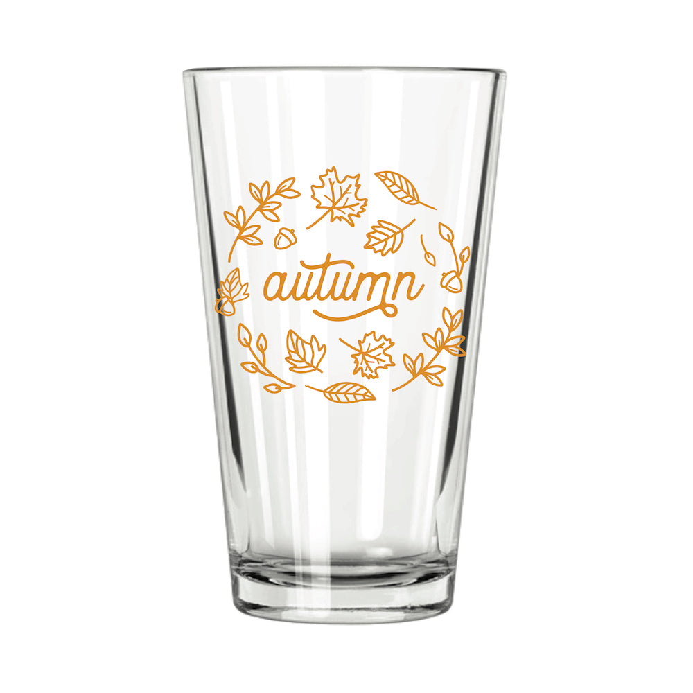 Autumn Pint Glass - Northern Glasses Pint Glass