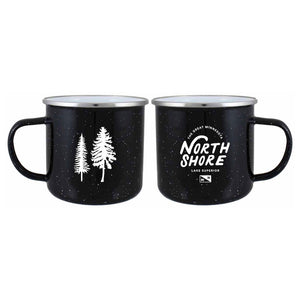 North Shore Trees Campfire Mug