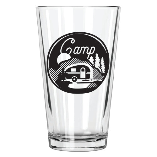 Camp Pint Glass - Northern Glasses Pint Glass
